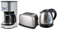 Edelstahl Frühstücks-Set: H.koenig Kaffeemaschine+Wasserkocher+Toaster NEU&OVP