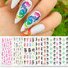 5 Sheets/set Waterproof Punk Dragon Decals Nail Stickers Manicure Nail Art UK ~