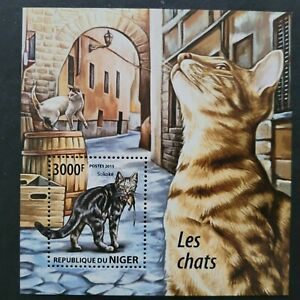 Niger 2015 /Fauna - Domestic Cats  / 1v minisheet MNH