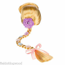 "New Disney Store RAPUNZEL Costume WIG 24"" Hair Braid Tangled Dress Up Princess"
