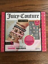 Make It Real – Juicy Couture Chains & Charms. DIY Charm Bracelet Making Kit...