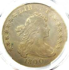 1800 Draped Bust Silver Dollar $1 Coin (Dotted Date, BB-194) - PCGS VF Details