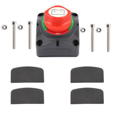 Dual Battery Selector Switch for Marine Boat RV Vehicles Fast Delivery 12V-60V