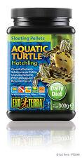 Exo Terra Aquatic Turtle Hatchling Floating Pellets 10.5oz / 300g