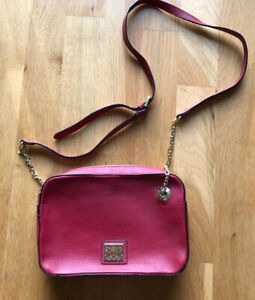 Biba Red Leather Bag