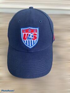 Nike Men's National Soccer Team Vtg StrapBack Soccer Hat Cap Blue