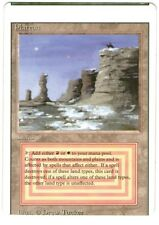 MTG 1 X PLATEAU NM DUAL LAND REVISED MISCUT