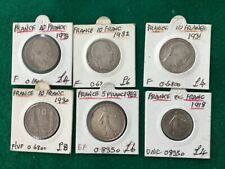 More details for 6french coins silver