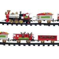 Spielzeugeisenbahn für den Weihnachtsbaum - Weihnachtszug - Modelleisenbahn