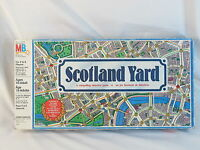 Scotland Yard 1985 Board Game Milton Bradley Complete Excellent Bilingual @