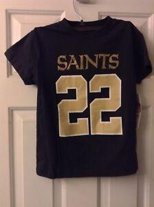 New Orleans Saints #22 Mark Ingram Boys Extra Small (4/5) Shirt