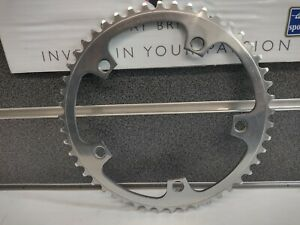 """NOS Vintage Campagnolo Record Pista Track 1/8"""" 49t 144 BCD Chainring Ex-Display"""