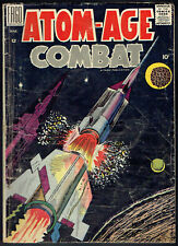 ATOM AGE COMBAT  3  GD/VG/3.0  -  Scarce book on Fago from 1959!