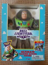 Buzz Lightyear Talking  Ultimate Action Figure Model 62809