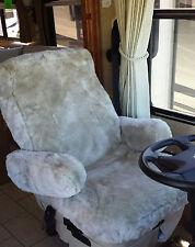 Sheepskin Seatcover,Custom for Mercedes RVs,SUV,Van's,Truck,Motorhome,Aircraft