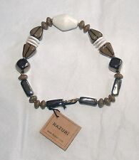 NWT Kazuri  Handcrafted Ceramic Bead Necklace Made in Kenya