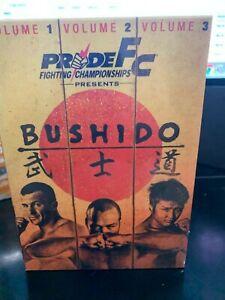 PRIDE FC Fighting Championships - Bushido: Vols. 1-3 (3) DVD Sealed Box Set