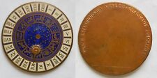 medaglia a ricordo del quadrante zodiacale torre orologio venezia 49mm