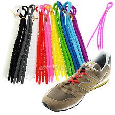 élastique x-tie Silicone Souple Paresseux Lacets de chaussures à câble