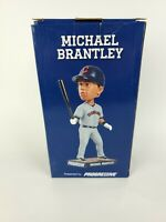 Michael Brantley Cleveland Indians Baseball SGA2015 Bobblehead NIB MLB New-4