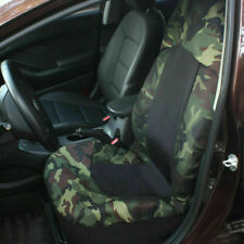 Autocare 2pcs Universal Camouflage Camo Car Front Seat Cover High Back Protector