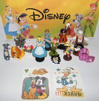 Disney Classic Movie Figure Set of 12 Peter Pan, Alice in Wonderland, Pinocchio