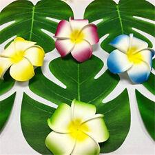 BULK 24pcs Tropical Hawaiian Green Leaves Luau Moana Party Table Decorations