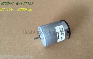 FOR MITSUMI M25N-1 R14 DC MOTOR 12V 3600 RMP Carbon Brush Motor