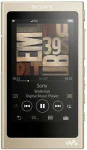 SONY NW-A45 NM Walkman A Series 16GB Pale Gold 2017 Japanese