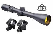 Delta II 3-9x40 Rifle Scope & Rings P4 Sniper Fits Weaver/Picatinney Rails