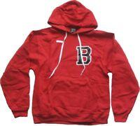 BREEZY EXCURSION Sweatshirt mit Kapuze - Letterman B Hoodie Red Gr. M