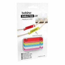 Bobino CABLE TAG helps you identify all the cables you have in use. Set of 10
