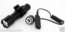weaver mounted 180 lumens flashlight for SMART PARTS SP1 PAINTBALL GUN