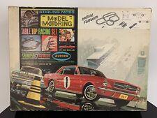 1965 Aurora ThunderJet 500 Stirling Moss TableTop HO Racing Set #1973 IN BOX