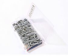 300 Piece Assorted Nut Washer and Bolt Set in Case - M5 M6 M8 - 5mm 6mm 8mm