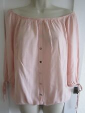 Ladies size 8 George pink gypsy summer  3/4 sleeve top