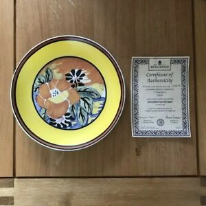 Clarice Cliff Limited Edition 'Distinctly Different - Eden' Wedgewood Plate