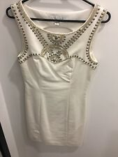 White cocktail dress from Forever New