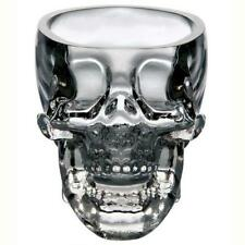 Crystal Skull Head Vodka Whiskey Shot Glass Cup Drinking Ware Home Bar GA