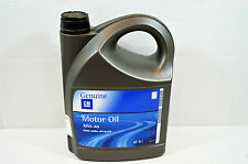 10w 40 GENUINE GM / VAUXHALL SEMI SYNTHETIC ENGINE MOTOR OIL 5Ltr 93165216