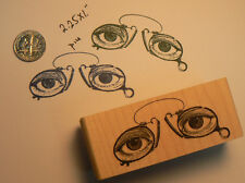 P14 Eyeglasses, spectacles rubber stamp WM