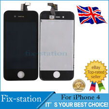 For iPhone4 LCD Display Touch Digitizer Screen Replacement Assembly Black UK A++