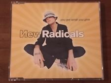 """NEW RADICALS - YOU GET WHAT YOU GIVE"" CD Single Come Nuovo,4 Tracce"