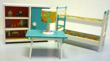 Cameretta per bambini children's room - vintage dolls house casa bambola ax