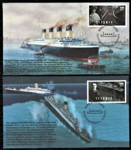 S&T - 4 FDC from Ireland : 2012 Sinking of the Titanic Centennial - Only 43 Made