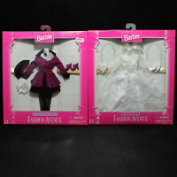 1996 Lot of 2 Barbie Doll Outfits Fashion Avenue NRFB CF01002