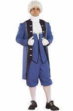 New In Package Colonial American Man George Washington Plus Sz 1X Adult Costume