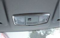 ABS Chrome Front Reading Light Lamp Cover Trim For Mitsubishi ASX 2013 2014 2015