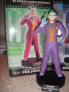 DC Comics THE JOKER MAQUETTE ANIMATED STATUE  BATMAN Bust Figure Figurine TOY