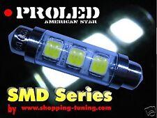 5 AMPOULE AUTO C10W NAVETTE SUPERLED SMD S HP-LED 42MM~41MM - éclairage 180 °